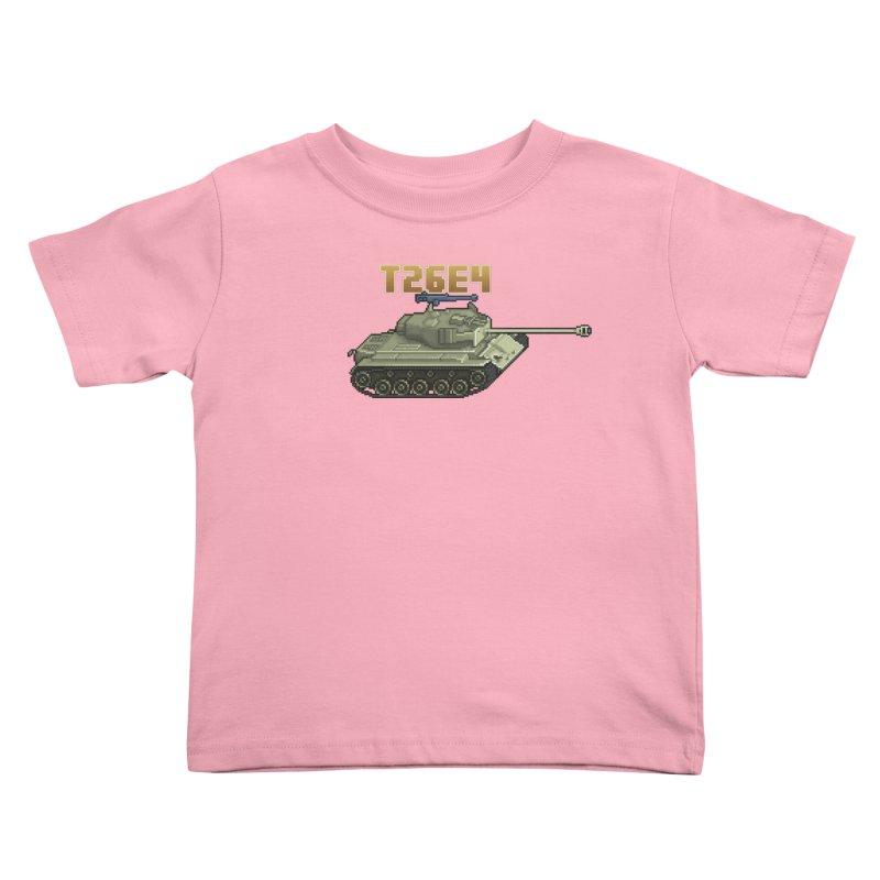 T26E4 Kids Toddler T-Shirt by Pixel Panzers's Merchandise