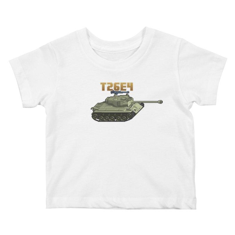 T26E4 Kids Baby T-Shirt by Pixel Panzers's Merchandise