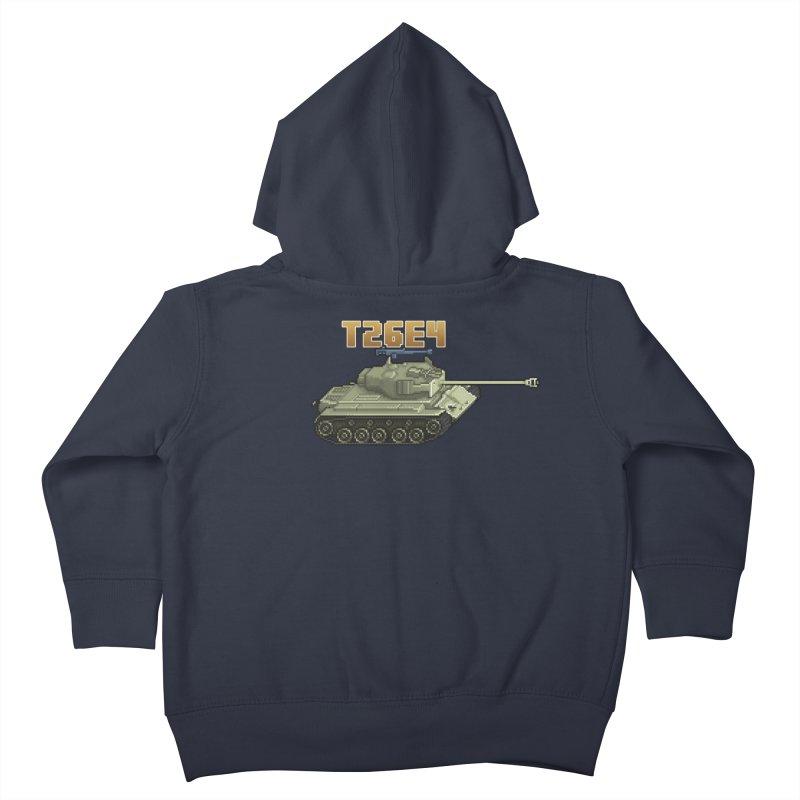T26E4 Kids Toddler Zip-Up Hoody by Pixel Panzers's Merchandise