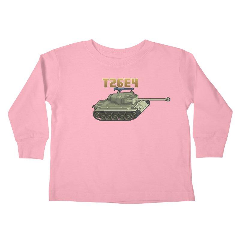 T26E4 Kids Toddler Longsleeve T-Shirt by Pixel Panzers's Merchandise