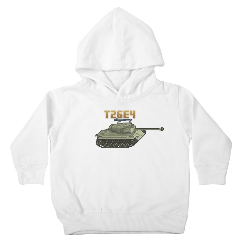 T26E4 Kids Toddler Pullover Hoody by Pixel Panzers's Merchandise