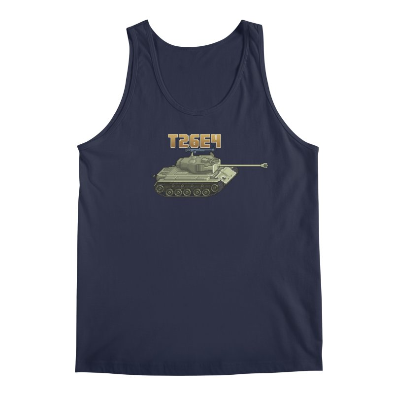 T26E4 Men's Regular Tank by Pixel Panzers's Merchandise