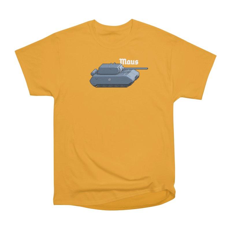 Maus Men's Heavyweight T-Shirt by Pixel Panzers's Merchandise