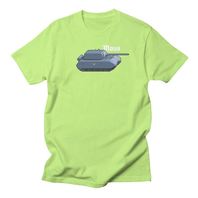 Maus Men's T-Shirt by Pixel Panzers's Merchandise