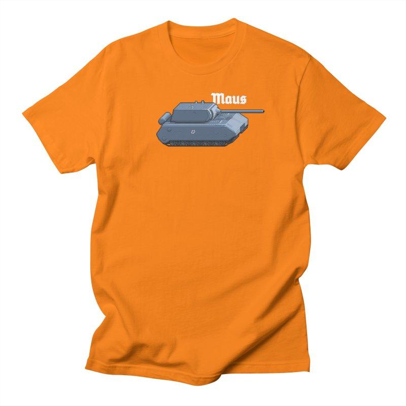 Maus Men's Regular T-Shirt by Pixel Panzers's Merchandise