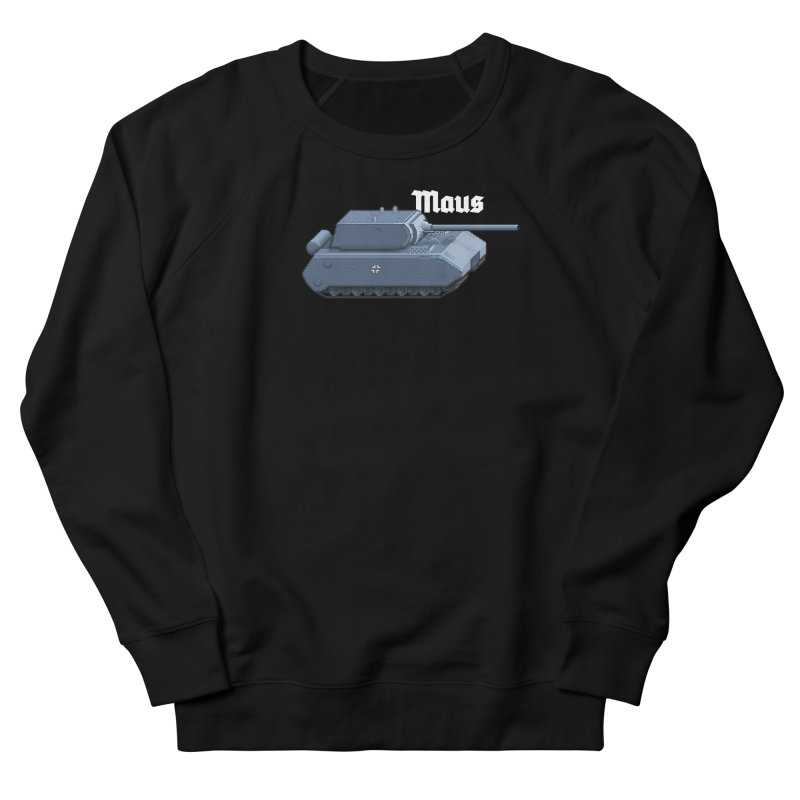 Maus Men's French Terry Sweatshirt by Pixel Panzers's Merchandise