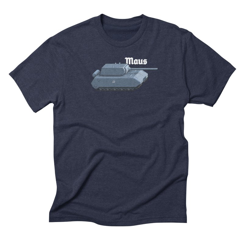 Maus Men's Triblend T-Shirt by Pixel Panzers's Merchandise