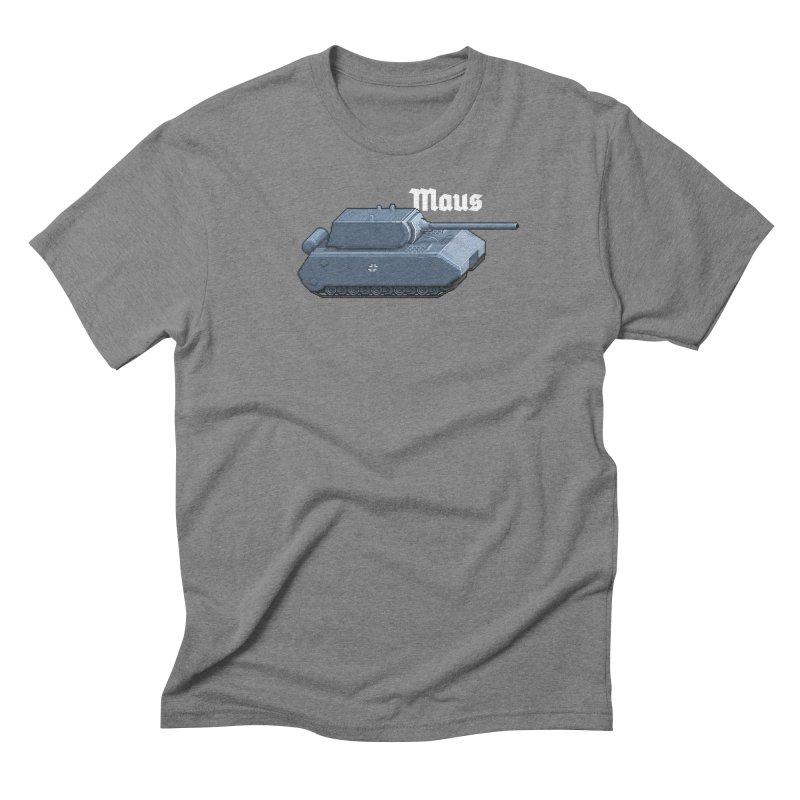 Maus Men's Triblend T-Shirt by Pixel Panzers's Merchandise