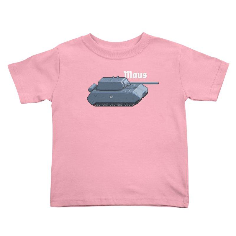 Maus Kids Toddler T-Shirt by Pixel Panzers's Merchandise