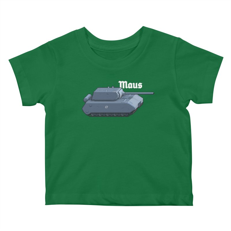 Maus Kids Baby T-Shirt by Pixel Panzers's Merchandise