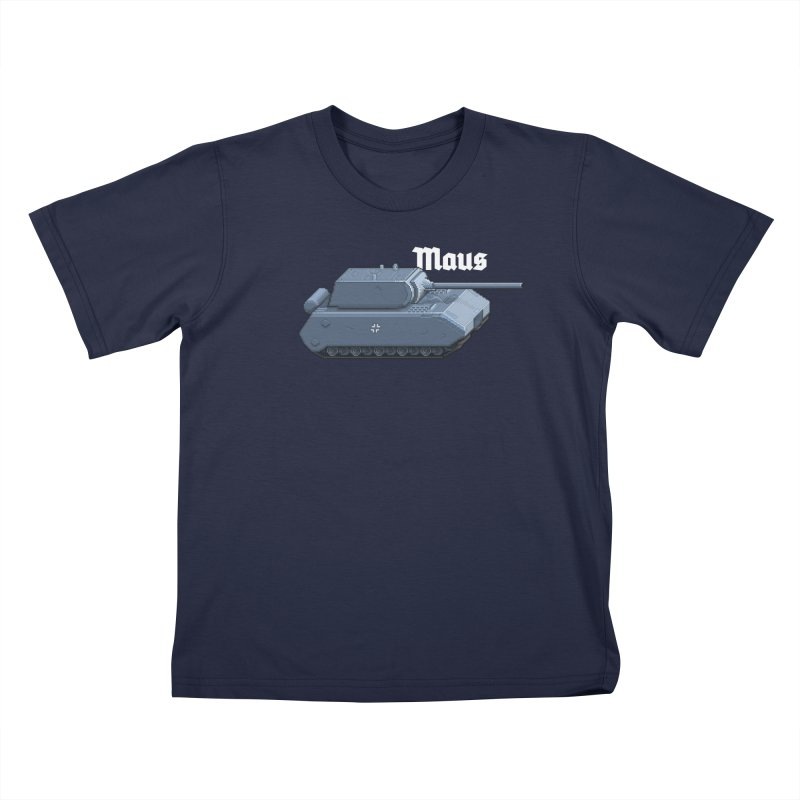 Maus Kids T-Shirt by Pixel Panzers's Merchandise