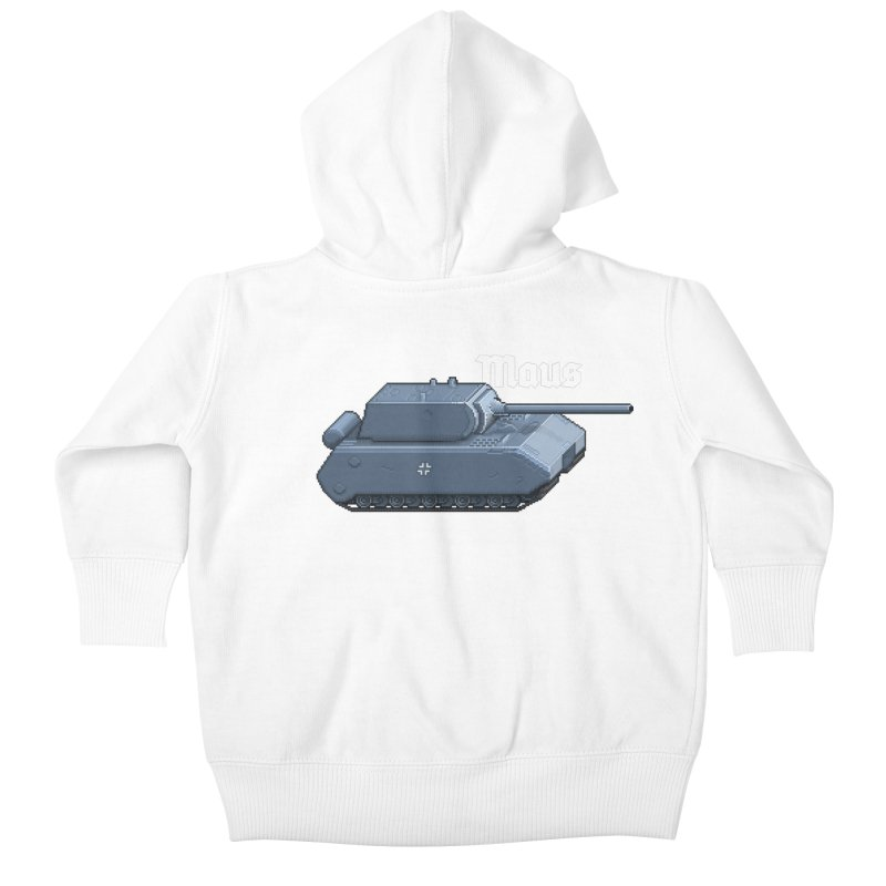 Maus Kids Baby Zip-Up Hoody by Pixel Panzers's Merchandise