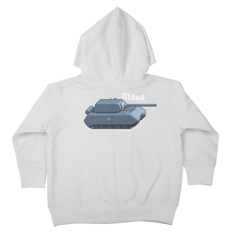 Maus Kids Toddler Zip-Up Hoody by Pixel Panzers's Merchandise