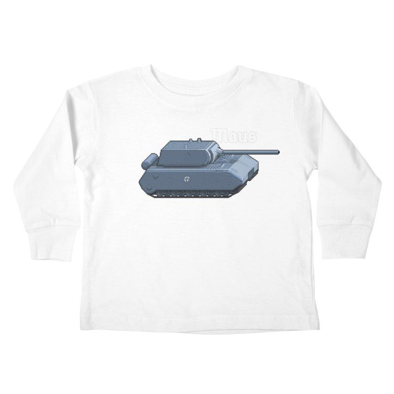 Maus Kids Toddler Longsleeve T-Shirt by Pixel Panzers's Merchandise