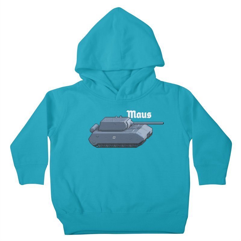 Maus Kids Toddler Pullover Hoody by Pixel Panzers's Merchandise
