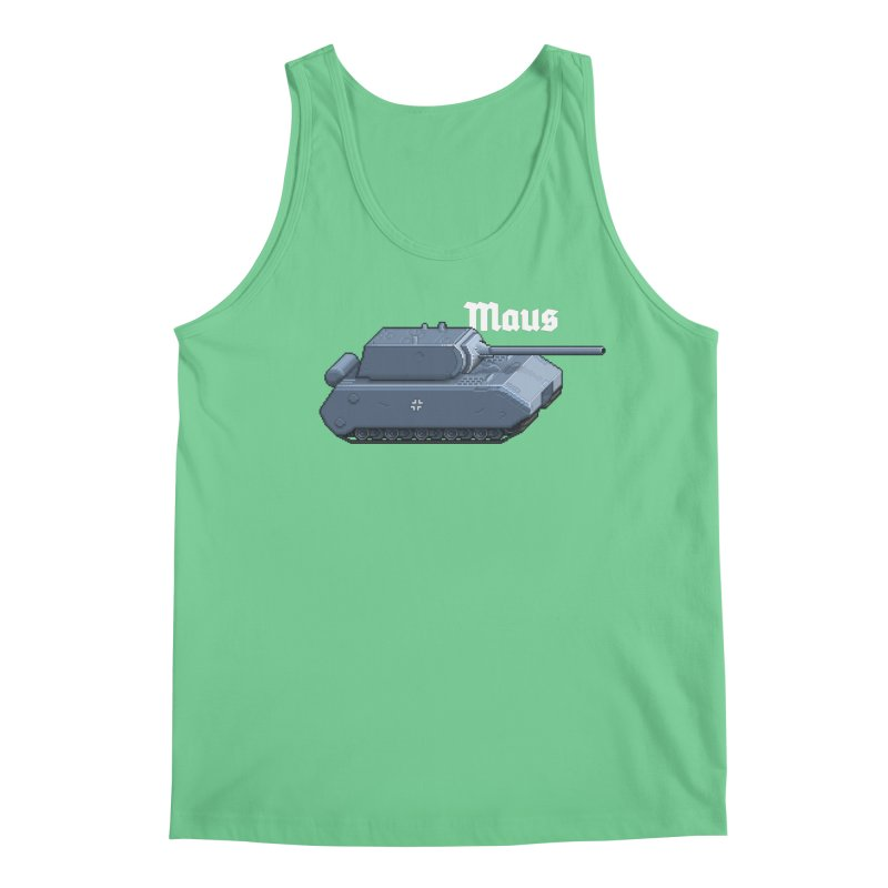 Maus Men's Regular Tank by Pixel Panzers's Merchandise
