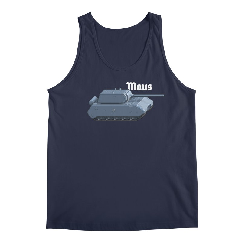 Maus Men's Regular Tank by Pixel Panzers's Merchandise