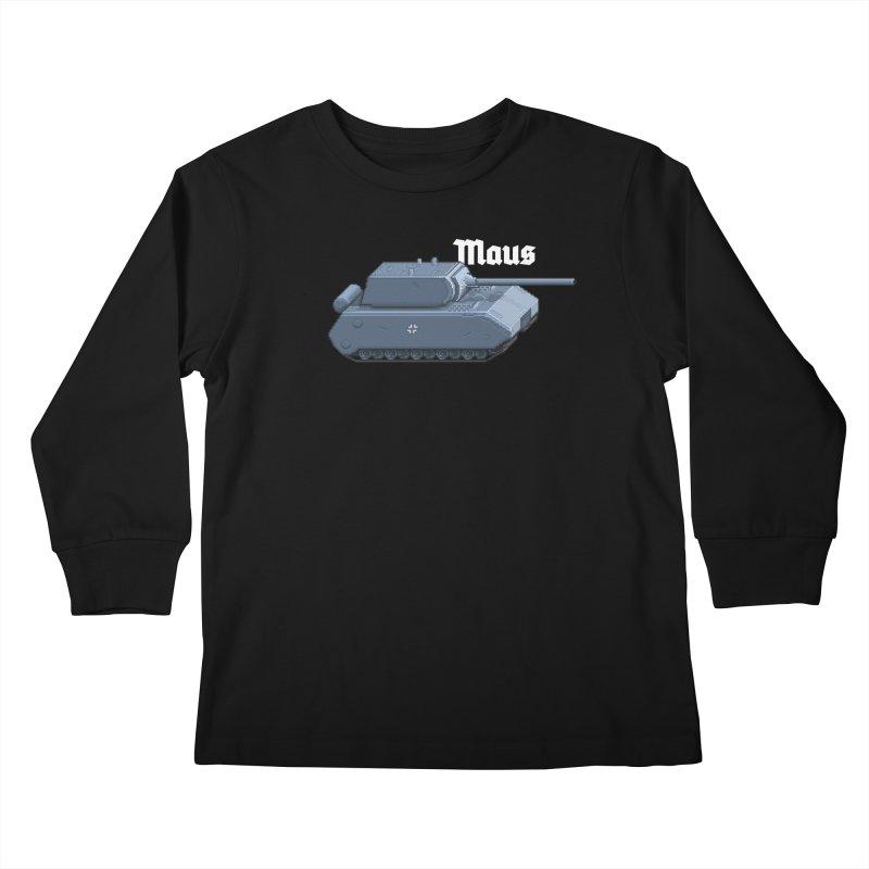 Maus Kids Longsleeve T-Shirt by Pixel Panzers's Merchandise