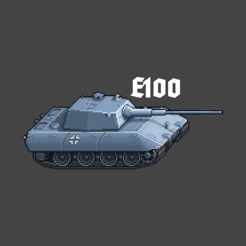 E-100 by Pixel Panzers's Merchandise