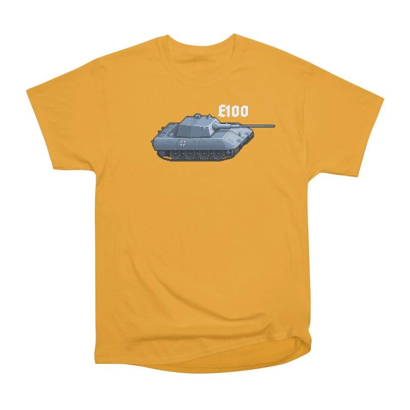 E-100 Men's Heavyweight T-Shirt by Pixel Panzers's Merchandise