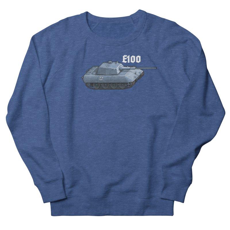 E-100 Men's Sweatshirt by Pixel Panzers's Merchandise