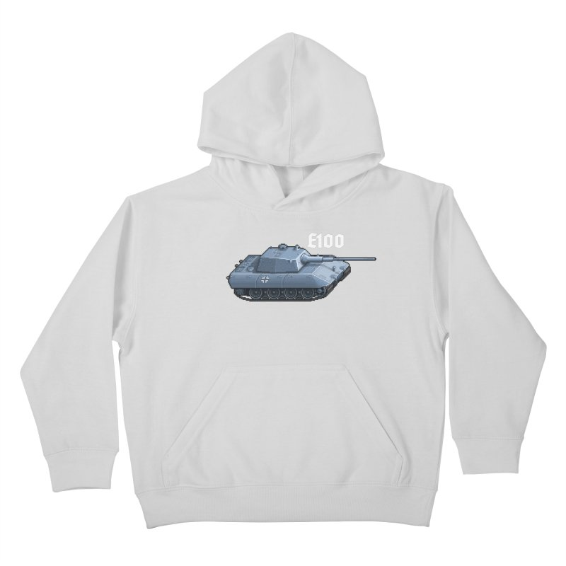 E-100 Kids Pullover Hoody by Pixel Panzers's Merchandise