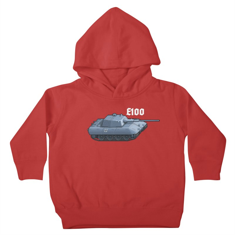 E-100 Kids Toddler Pullover Hoody by Pixel Panzers's Merchandise