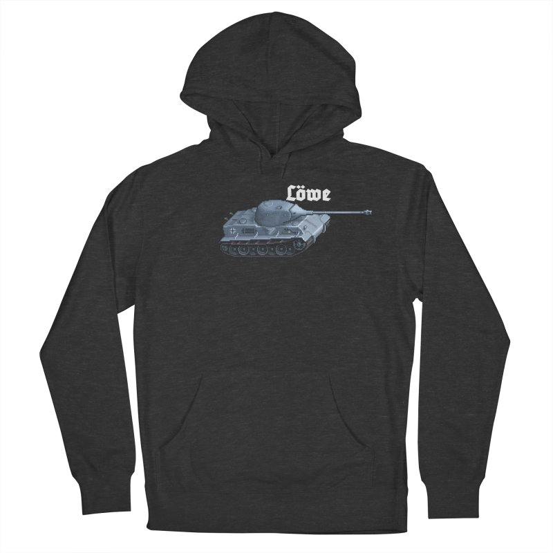 Löwe Men's French Terry Pullover Hoody by Pixel Panzers's Merchandise