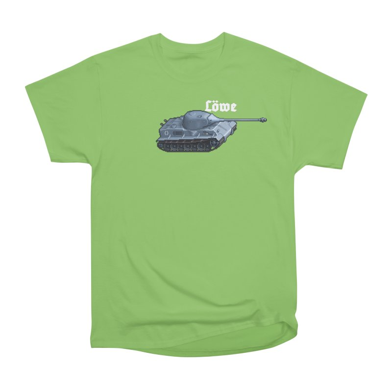 Löwe Men's Heavyweight T-Shirt by Pixel Panzers's Merchandise