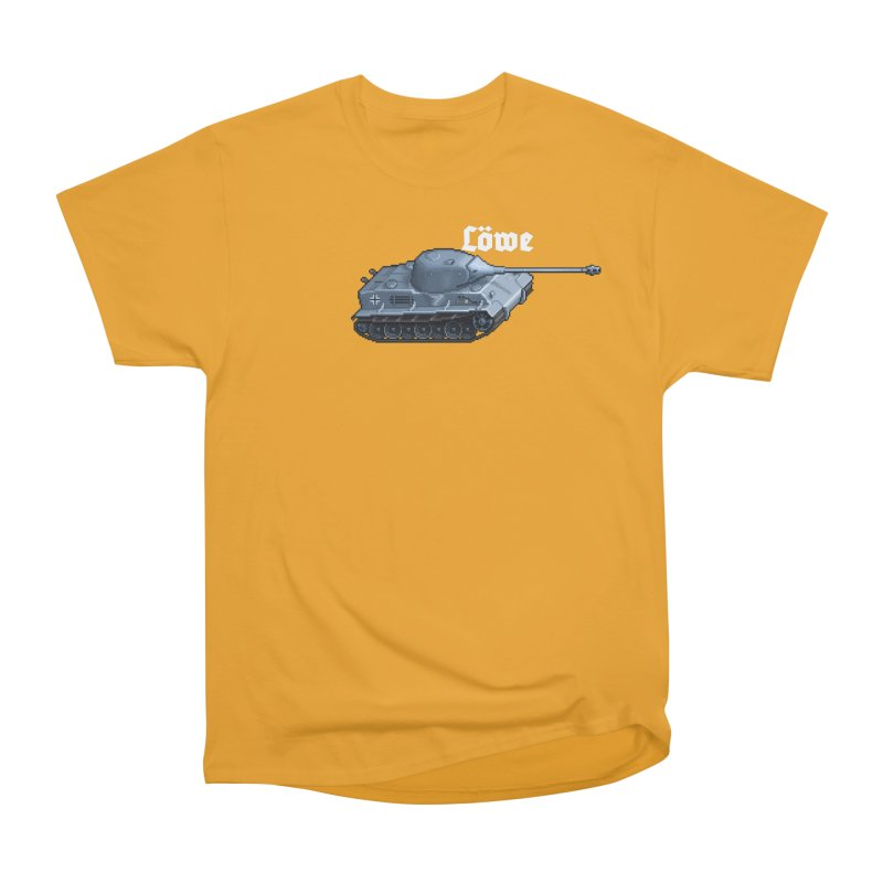 Löwe Men's Heavyweight T-Shirt by Pixel Panzers's Merchandise