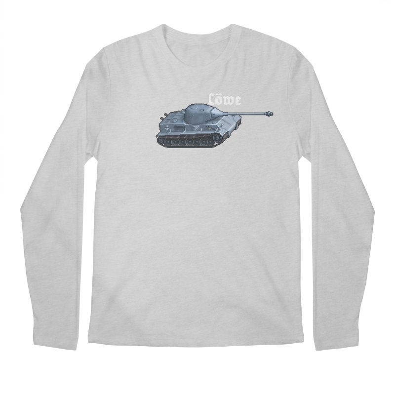 Löwe Men's Regular Longsleeve T-Shirt by Pixel Panzers's Merchandise