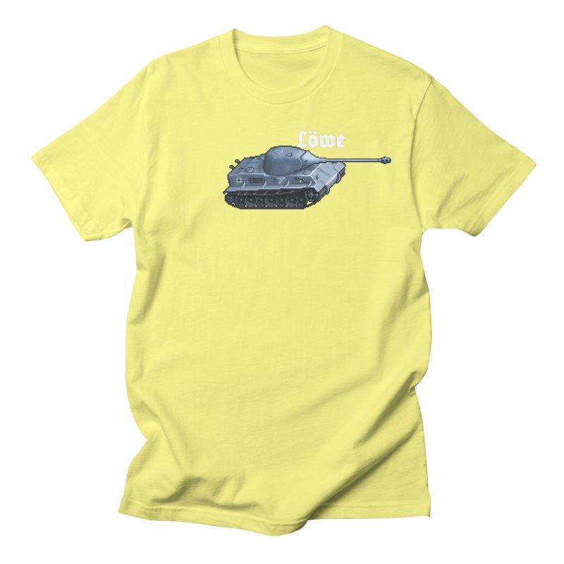 Löwe Men's T-Shirt by Pixel Panzers's Merchandise
