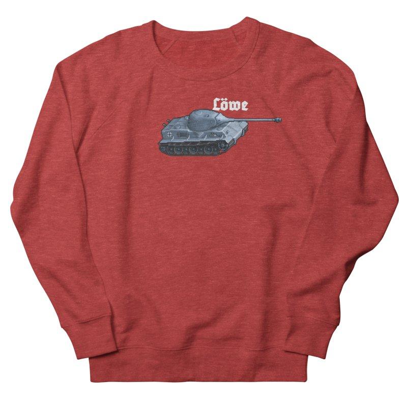 Löwe Men's Sweatshirt by Pixel Panzers's Merchandise