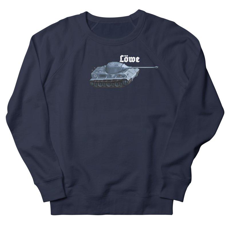 Löwe Men's French Terry Sweatshirt by Pixel Panzers's Merchandise