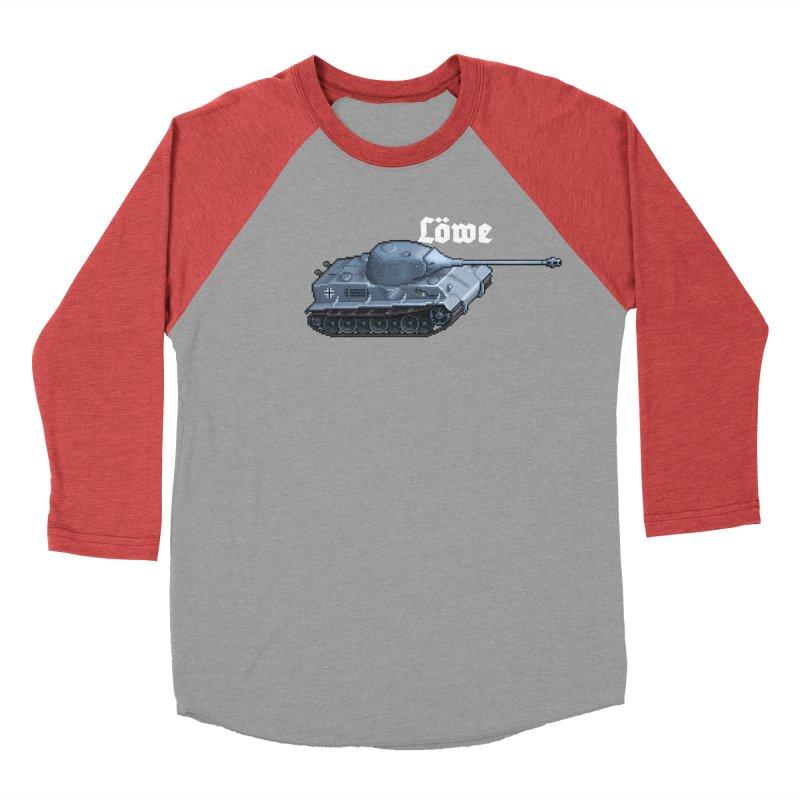 Löwe Men's Baseball Triblend Longsleeve T-Shirt by Pixel Panzers's Merchandise