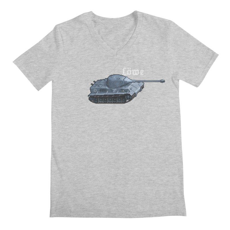 Löwe Men's Regular V-Neck by Pixel Panzers's Merchandise