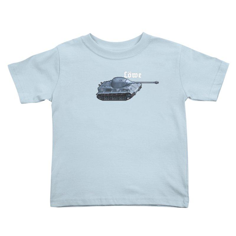 Löwe Kids Toddler T-Shirt by Pixel Panzers's Merchandise