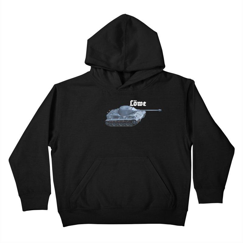 Löwe Kids Pullover Hoody by Pixel Panzers's Merchandise