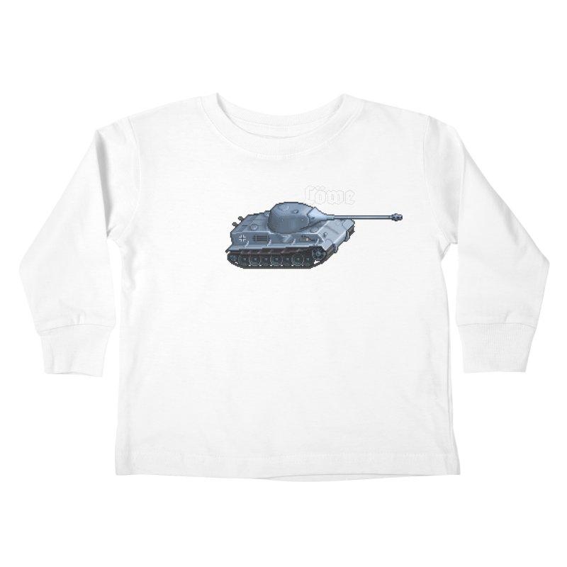 Löwe Kids Toddler Longsleeve T-Shirt by Pixel Panzers's Merchandise