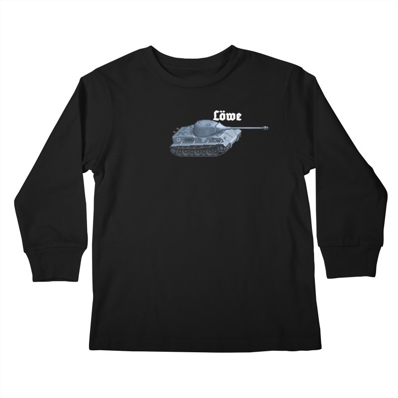 Löwe Kids Longsleeve T-Shirt by Pixel Panzers's Merchandise