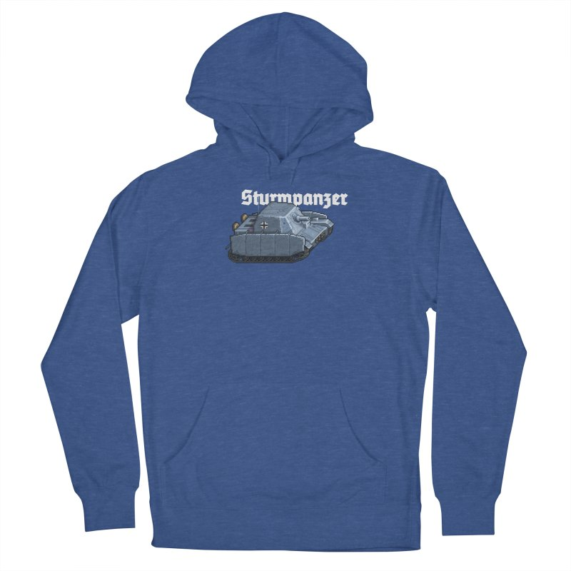 Sturmpanzer Men's French Terry Pullover Hoody by Pixel Panzers's Merchandise