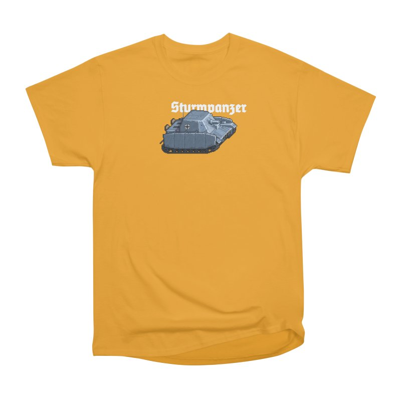 Sturmpanzer Men's Heavyweight T-Shirt by Pixel Panzers's Merchandise