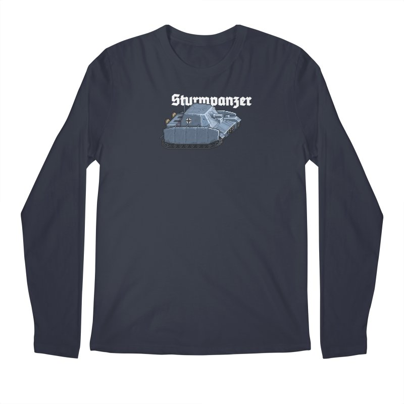 Sturmpanzer Men's Regular Longsleeve T-Shirt by Pixel Panzers's Merchandise