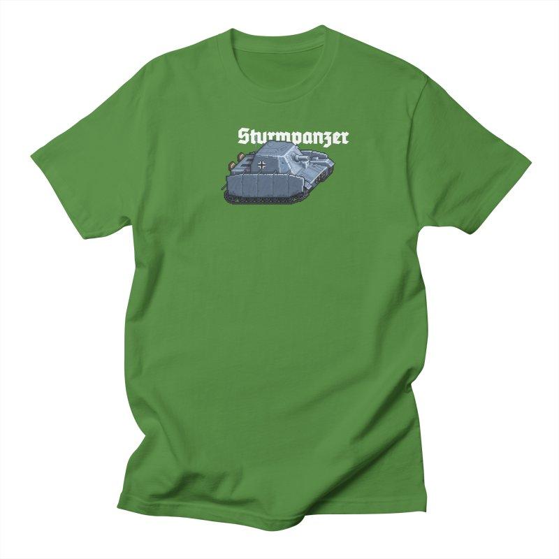 Sturmpanzer Men's T-Shirt by Pixel Panzers's Merchandise