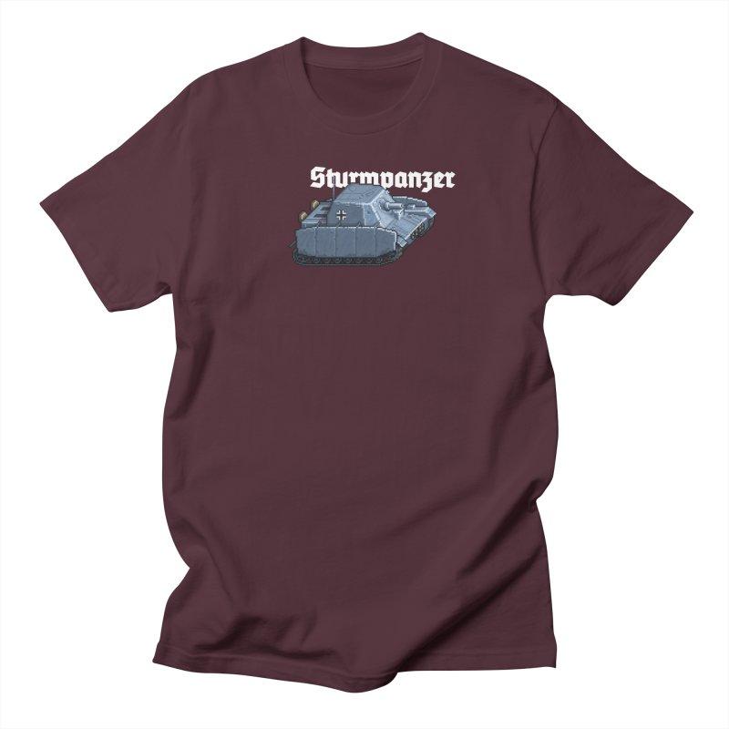 Sturmpanzer Men's Regular T-Shirt by Pixel Panzers's Merchandise