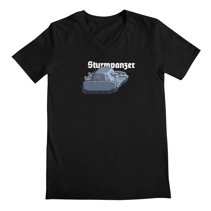 Sturmpanzer Men's Regular V-Neck by Pixel Panzers's Merchandise