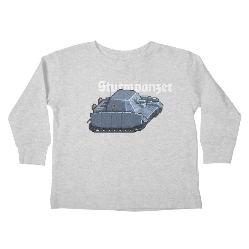 Sturmpanzer Kids Toddler Longsleeve T-Shirt by Pixel Panzers's Merchandise
