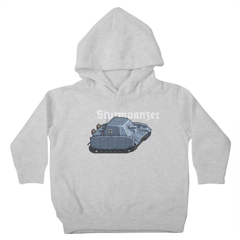 Sturmpanzer Kids Toddler Pullover Hoody by Pixel Panzers's Merchandise