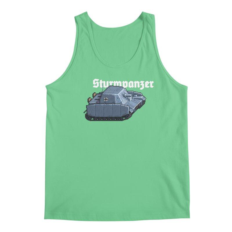 Sturmpanzer Men's Regular Tank by Pixel Panzers's Merchandise