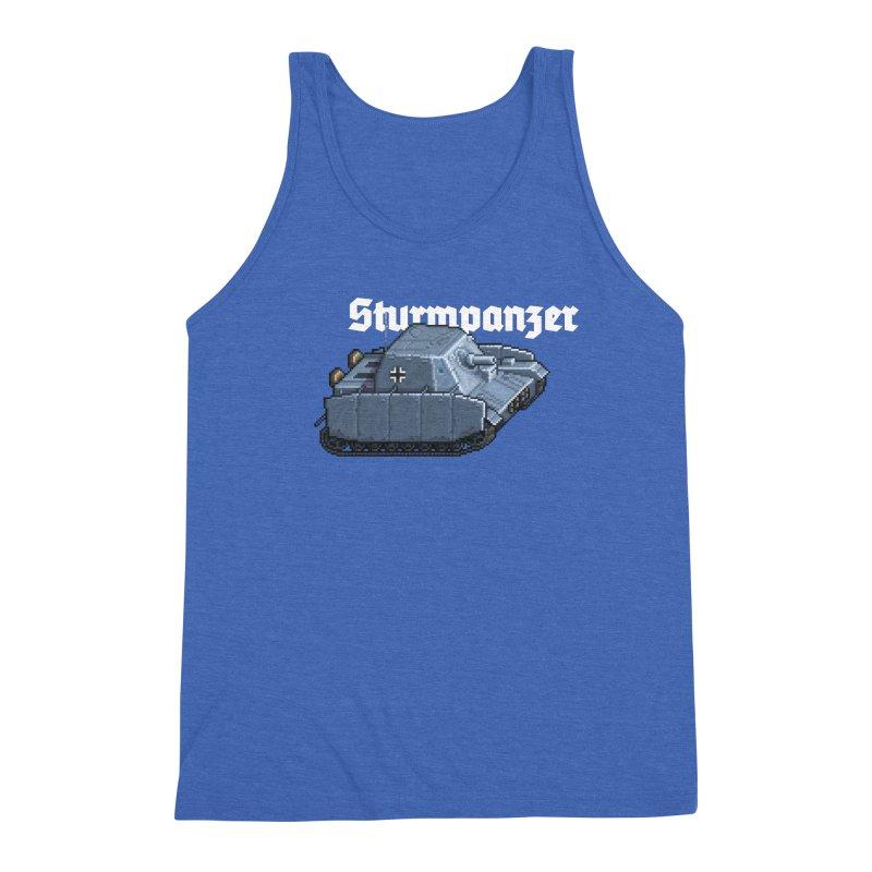 Sturmpanzer Men's Triblend Tank by Pixel Panzers's Merchandise